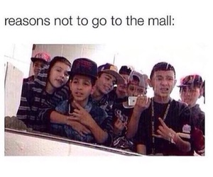 mall, funny, and true image