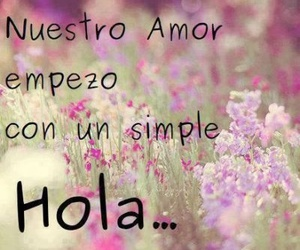 love and hola image