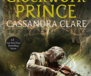 book, the infernal devices, and clockwork prince image