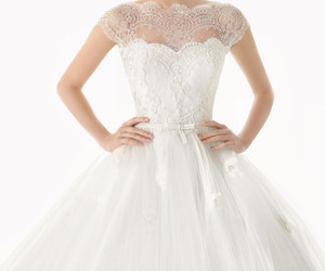 dress, dresses, and wedding dress image