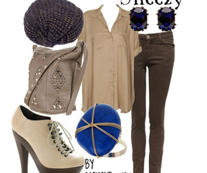 fashion, inspired outfit, and sneezy image