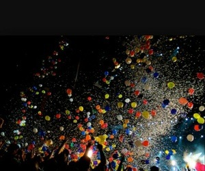 ballons, colorful, and festival image
