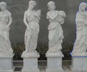 pale, grunge, and statue image