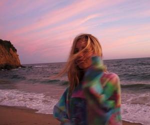 girl, beach, and tumblr image