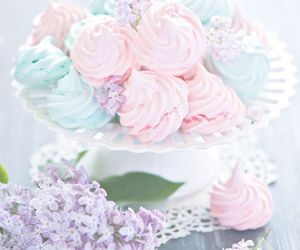 sweet, pink, and dessert image