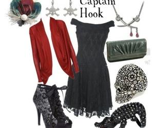 disney, fashion, and captain hook image