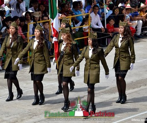 girls, mexico, and bandera image
