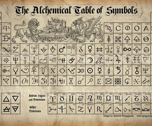 symbol and alchemical image