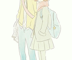 couple, cute girl, and deviantart image