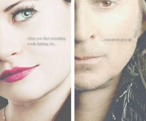 belle, rumple, and once a upon a time image