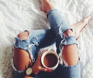 coffee, fashion, and love image