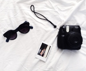 black, instax, and memories image