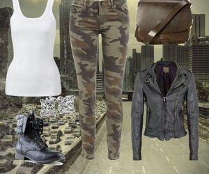 fashion and zombie apocalypse image