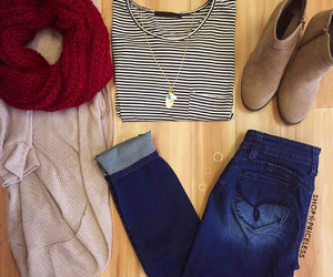 fall fashion, cute outfits, and style image