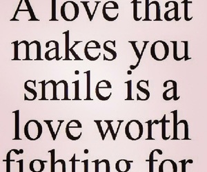 love, smile, and fighting image