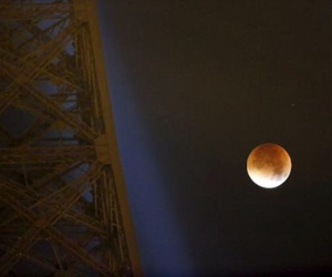 eclipse, moon, and paris image