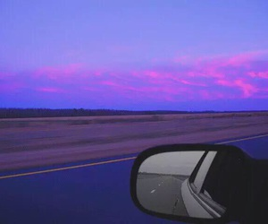 sky, car, and grunge image