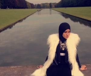 Calvin Klein, fourrure, and hijab image