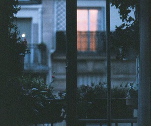 night, window, and indie image