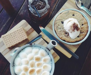 blondies, food, and smores image