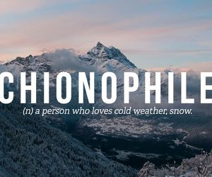 snow, cold, and words image