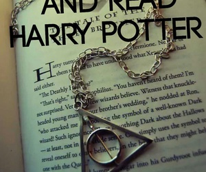 books, harry potter, and morte image