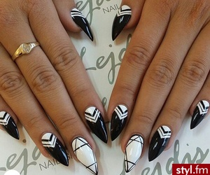 graphic and nails image