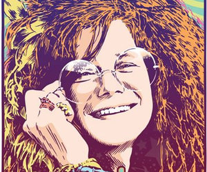 hippie, janis, and music image
