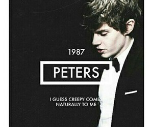 king, evan+peters, and american+horror+story image