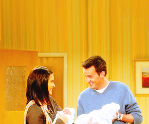 baby and monica geller image