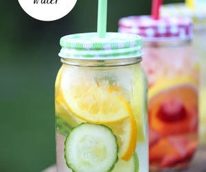 acne, better life, and detox water image