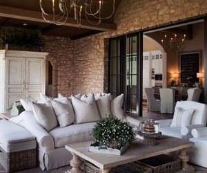 beige, living, and cozy image
