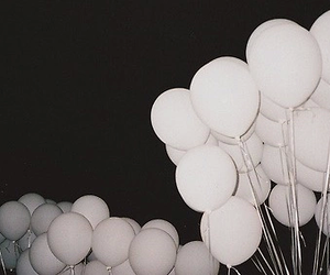 balloons, grunge, and header image