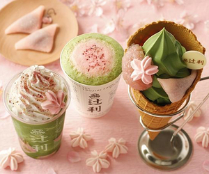 japan, ice cream, and food image