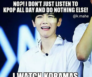 kpop, exo, and meme image