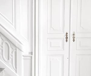 door, indoor, and stairs image
