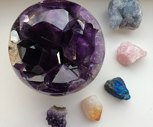 crystal and cute image