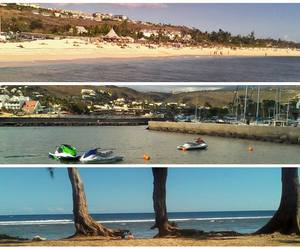 paysage, vacances, and plage image
