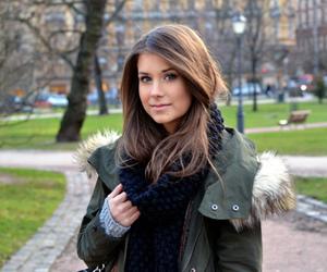 beautiful, brunette, and fashion image