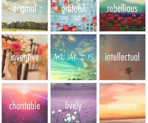 aquarius, horoscope, and january image