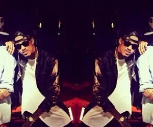 beautiful, breezy, and chris brown image
