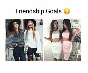 fashion, friendship, and style image