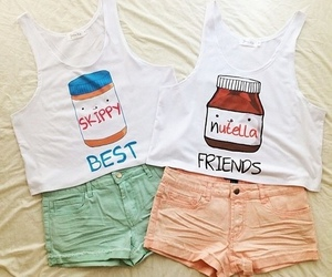 nutella, best friends, and friends image