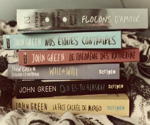 book, french, and jhon green image