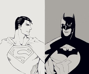 batman, superman, and wallpaper image