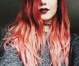 girl, luanna perez, and red hair image