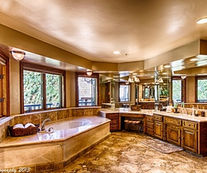 bathroom, fancy, and house image