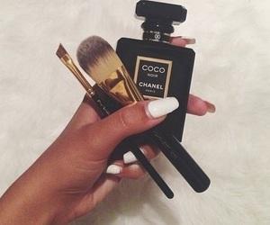 chanel, makeup, and nails image