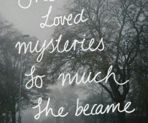 mystery and quote image