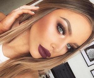beauty, blue eyes, and luxury image